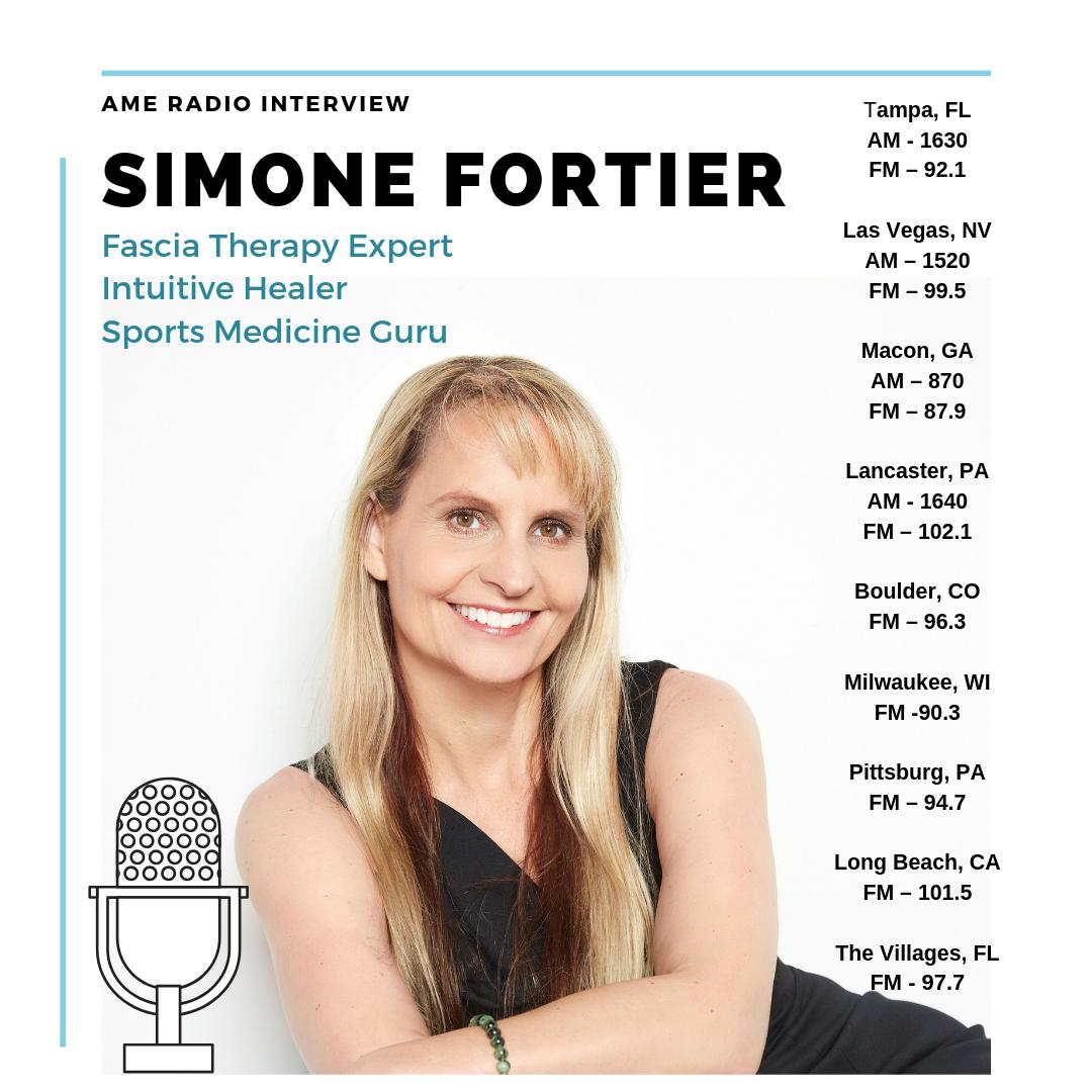 simoe fortier stretch fascia radio dates