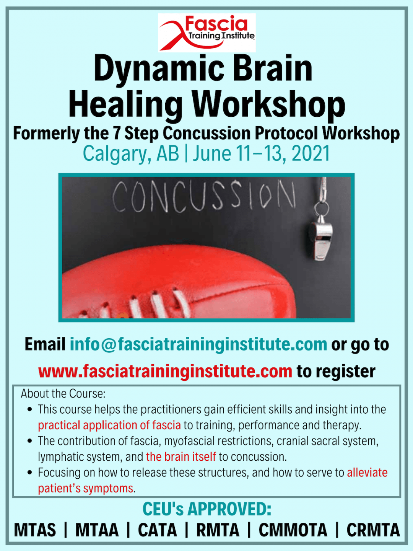7 Step Concussion Protocol Workshop